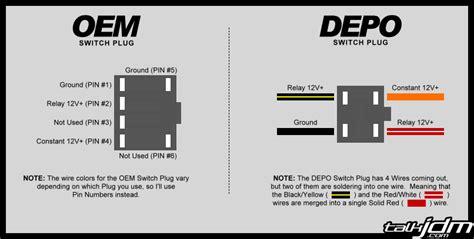 prelude jdm fog light wiring diagram get free image