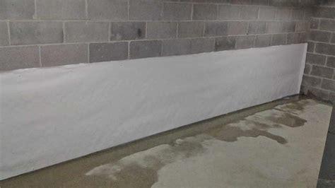 clean basement walls