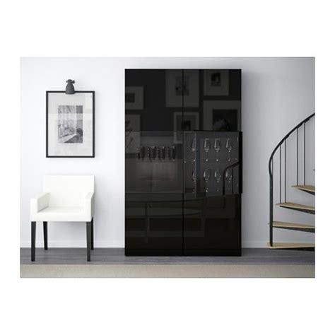 besta vitrine schwarzbraun best 197 vitrine schwarzbraun selsviken hochglanz klarglas