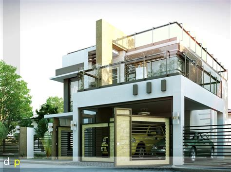 Modern House Designs Series Mhd 2014010 Pinoy Eplans Stylish Home Designs