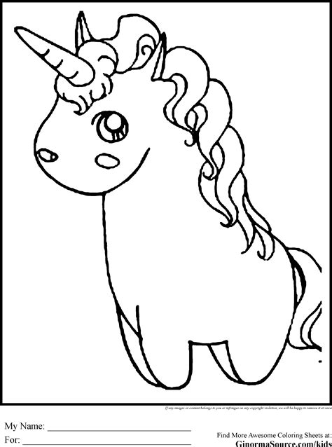 Baby Unicorns Coloring Pages Coloring Home Baby Unicorn Coloring Pages For