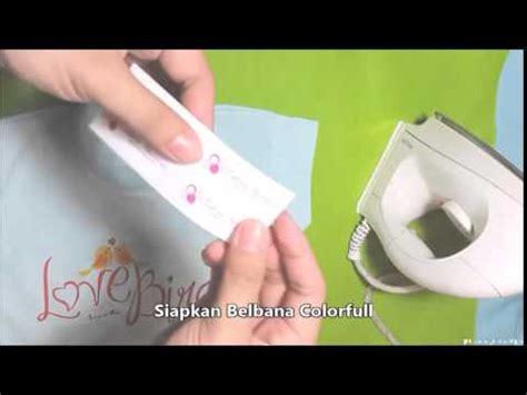 Stiker Label Nama Anak Baju Kain Tidak Luntur Belbana Colorfull Stiker Nama Baju Khusus Kain Anti Air
