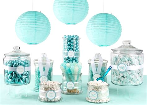 Wedding Decoration Gold And White Tiffany Blue Candy Buffet Oh Nuts 174
