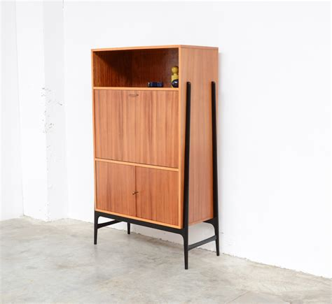 Vintage Bar Cabinet Vintage High Bar Cabinet By Alfred Hendrickx For Belform For Sale At Pamono