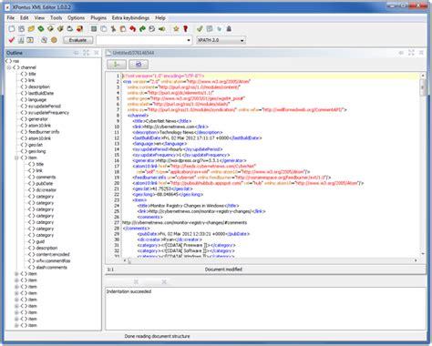 xml editor xml editor with xpath support