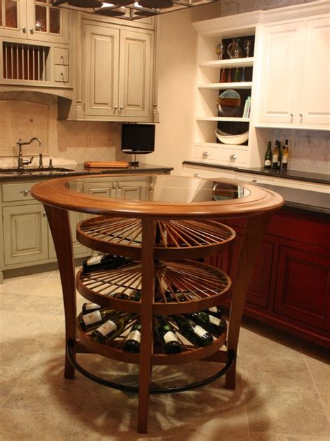 Kitchen Islands With Wine Racks Kitchen Island Wine Rack Stuff Wine Islands And Wine Racks