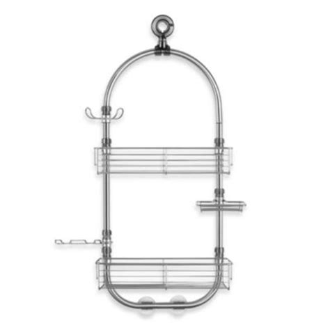 brushed nickel bathtub caddy buy brushed nickel hardware from bed bath beyond