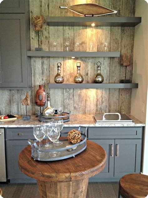 Best 25  Barn wood cabinets ideas on Pinterest   Rustic