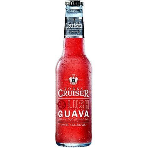 vodka cruiser vodka cruiser lush guava 4 6 275ml bottle ready to