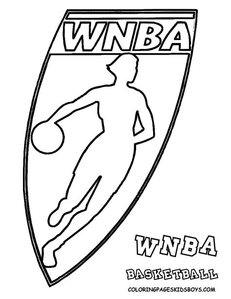 nba basketball logo pages coloring pages