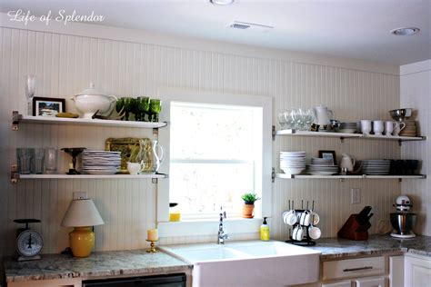 Open Kitchen Shelves Decorating Ideas stunning open kitchen shelves decorating ideas pictures