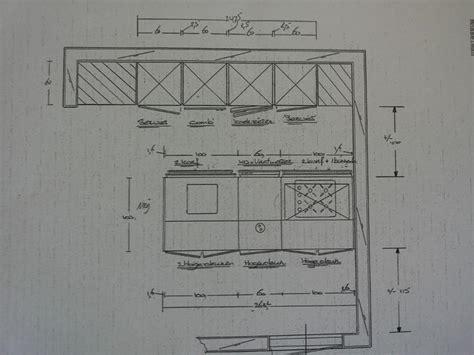 keuken tekening tekening keuken met kookeiland