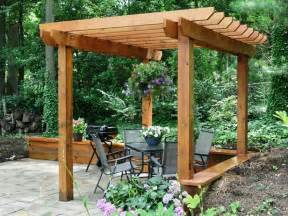Diy Garden Pergola by Woodwork How To Build A Pergola Diy Network Pdf Plans