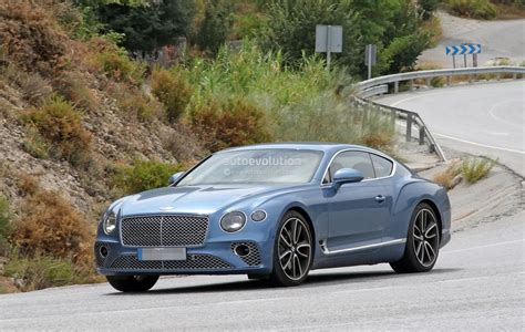 2020 Bentley Gt by 2020 Bentley Continental Gt In Hybrid Spied Without