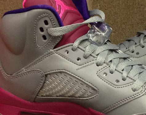 Schuhe Big Air 5 Gs Cement Flash Pueple Grau Kinder Rosa Ordnungsgemã ã Er Service P 193 air v gs cement grey pink flash raspberry