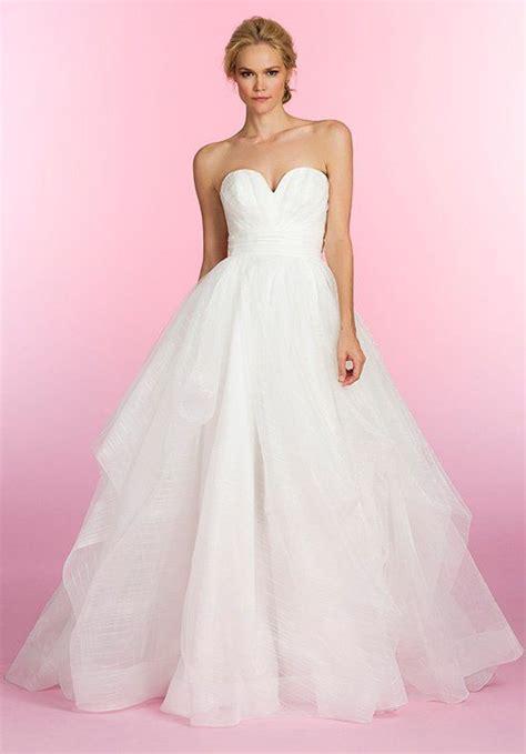 hayley paige bridal dresses wedding photos refinery29 hayley paige 6507 esther wedding dress the knot