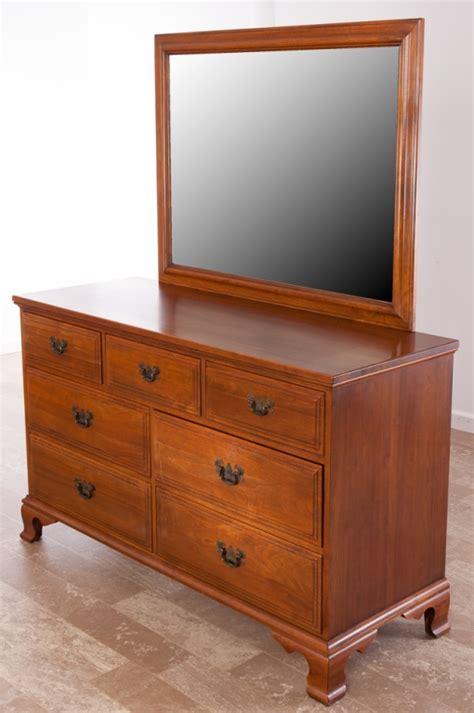 Davis Cabinet Company Dresser by Davis Cabinet Company Walnut Dresser W Mirror
