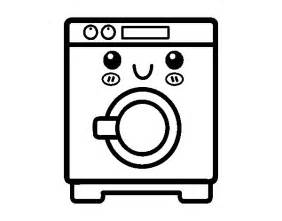 Washing Machine Colouring Pages sketch template