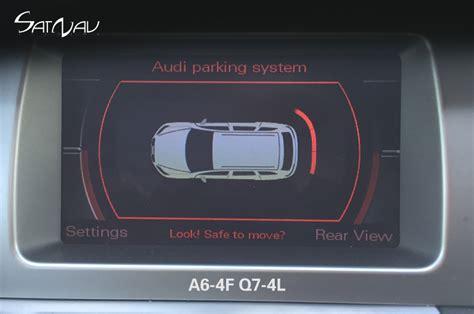 electronic toll collection 1990 audi 80 parking system audi optical parking sensors satnav systems