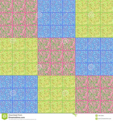 patchwork quilt design stock photography image 19672092