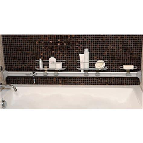 in my shower simplehuman adjustable horizontal tension