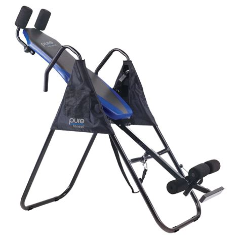 pure fitness pure fitness deluxe inversion table fitness