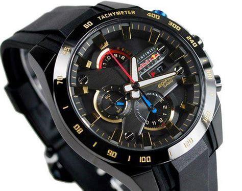 Edifice Infiniti Redbull Racing Black Replika casio edifice x infiniti bull racing limited efr540 efr 540rbp 1a ebay