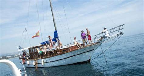 dinner on a boat marbella boat parties marbella schooner rental banus incentvie