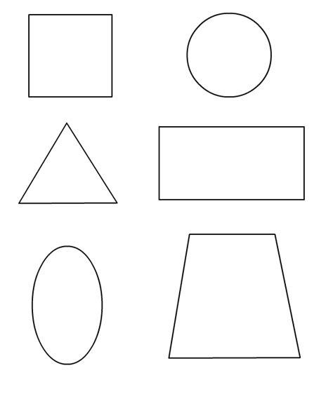 3d shapes coloring pages