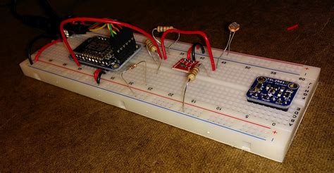 esp8266 wired to cds 10k resistor 20151119