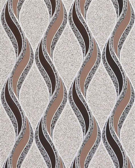 Grafische Bilder by Edem 1025 13 Tapete Grafische Muster Geschwungene Linien
