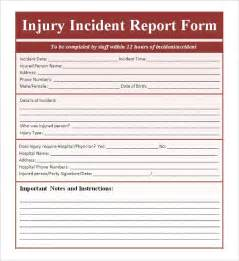 incident report form template incident report template 34 free word pdf format