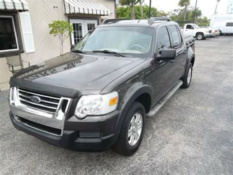buy ford explorer sport trac buy used 2007 ford explorer sport trac xlt model in west