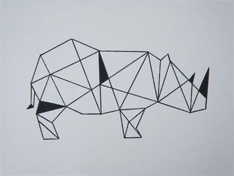 Dessin Oiseau Origami by Rhinoc 233 Ros En Origami Mademoiselle L 233 Na