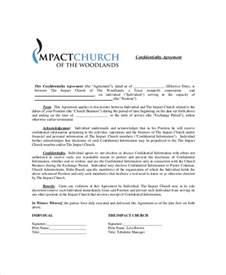 business confidentiality agreement template 10 business confidentiality agreement templates free