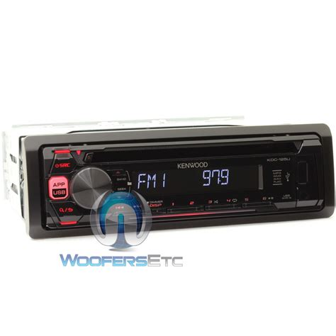 Kenwood Cd Mp3 Usb kdc 125u kenwood in dash cd mp3 car stereo receiver with usb interface