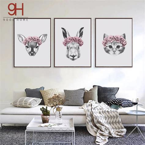 cat wallpaper home decor ᗐhand draw animals art ξ print print painting poster wall
