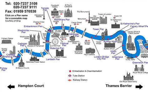 river thames full map river thames map boat hire and catering along the river