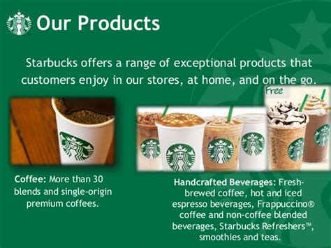 Handcrafted Espresso Beverages Starbucks - starbucks company profile