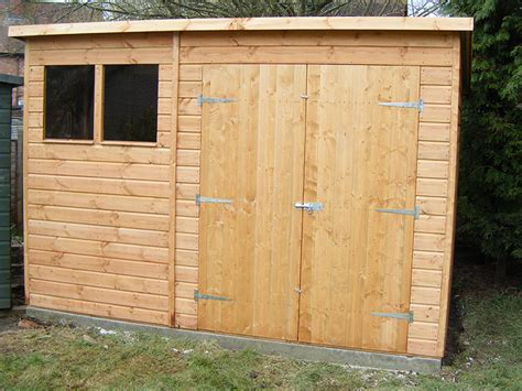 10 X 6 Pent Shed by Bespoke Pent Shed 10 X 6 Surrey Shed Manufacturer