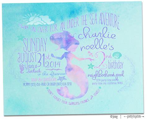 Charlies Mermaid  Ee  Nd Ee    Ee  Birthday Ee   Party Project Nursery