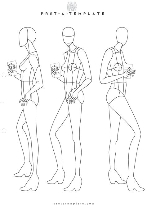 fashion sketchbook with templates figure fashion template d i y your own fashion