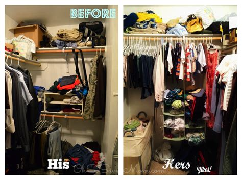 Sofis Closet by Before And After Closet Redo With Sofi Organizers