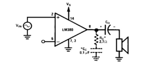 ec6404 linear integrated circuits notes applications of lm 380 study material lecturing notes assignment reference wiki description