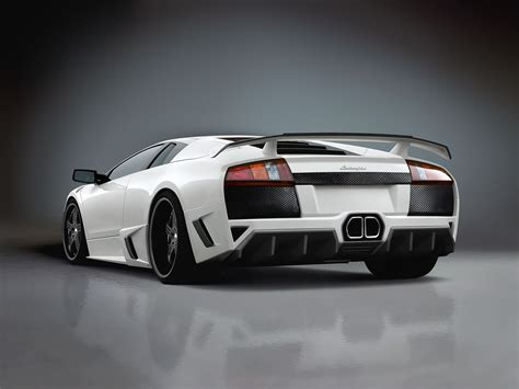 Lamborghini Murcielago ángulo trasero fondos de pantalla