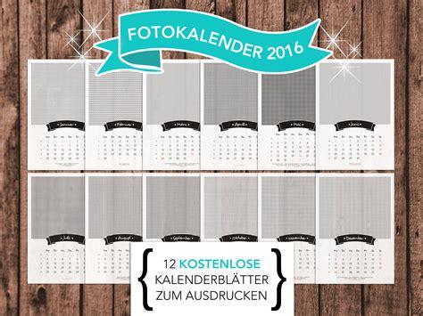 fotokalender zum ausdrucken kalender
