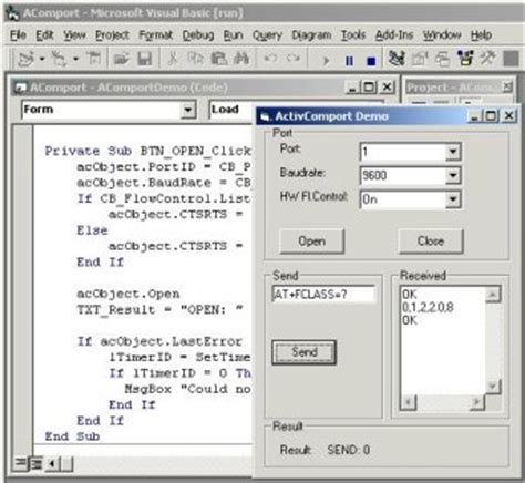 serial communication port activecomport serial port toolkit by activexperts software