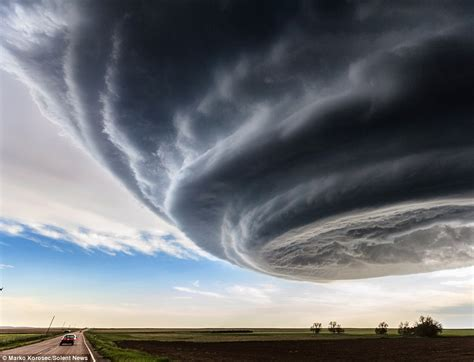 Storm chaser marko korosec captures dramatic us cloud formations on