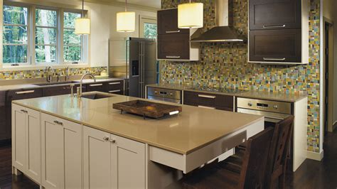 quarter sawn oak kitchen cabinets quartersawn oak cabinets with painted kitchen island omega
