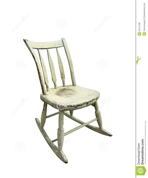 Small Rocking Chair by Vintage Small Rocking Chair Royalty Free Stock Photos